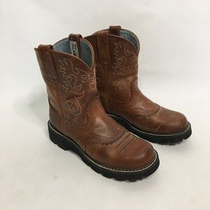 Ariat women's Fat Baby original ankle boots
